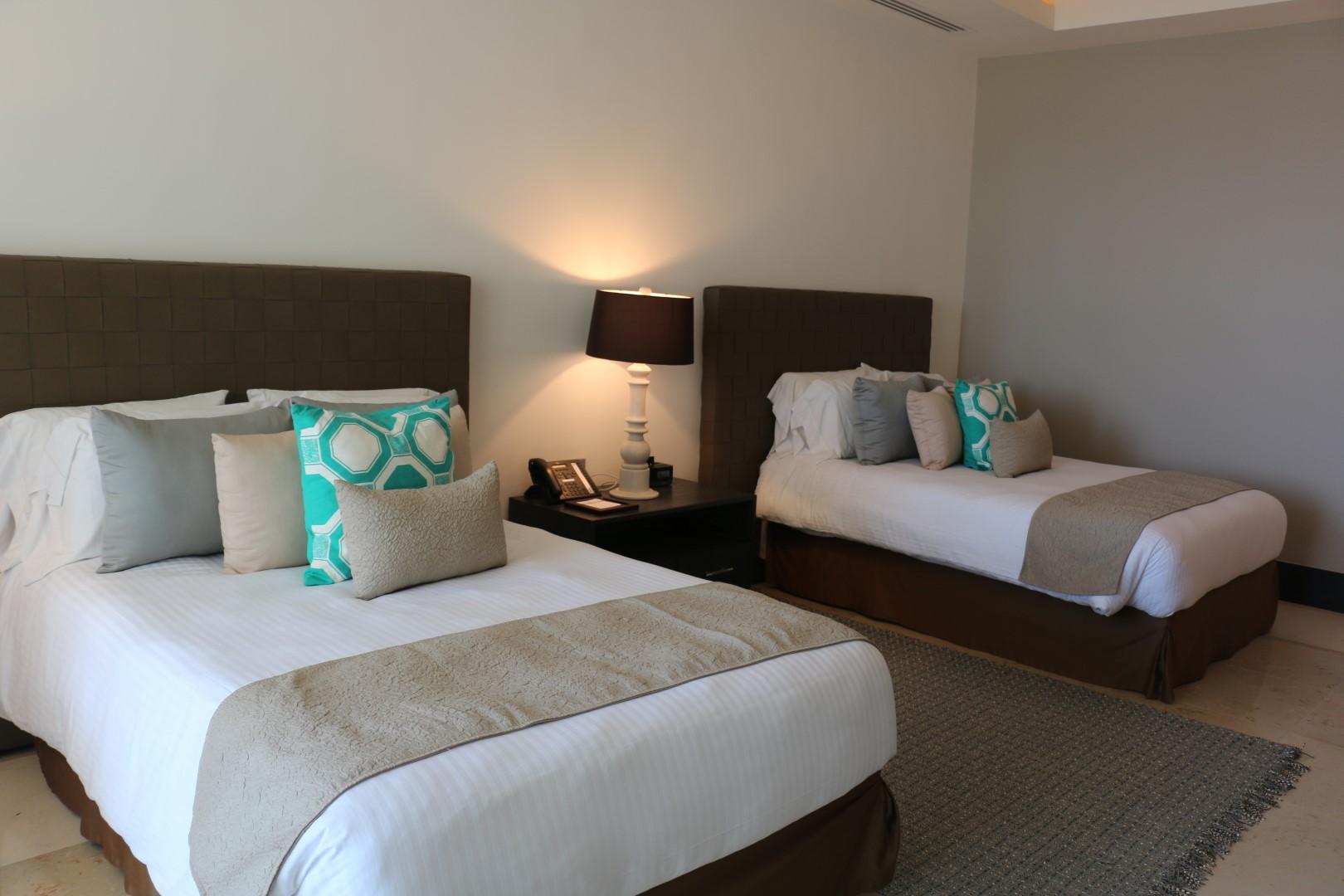 two queen beds- third bedroom