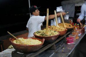 roasted corn on the Malecon during Puerto Vallarta Walking Food Tour