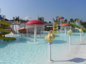 Water Park at the new Acapulco Mayan Palace
