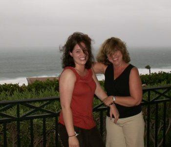 Rachel and Linda Hurricane Los Cabos Mexico