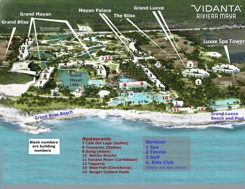 Grand Mayan Palace Cancun (Map) on