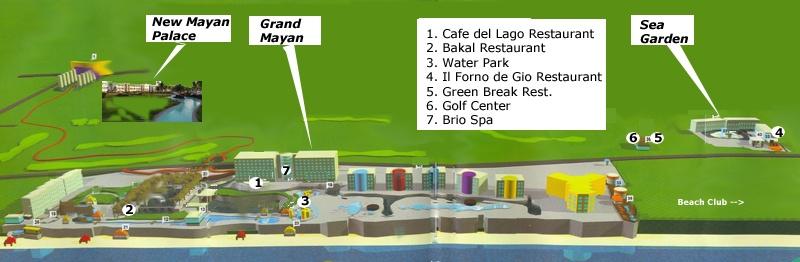 Mayan Resorts Acapulco Map