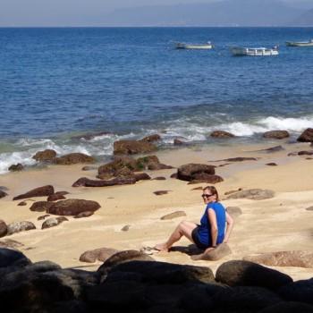 beach at las caletas