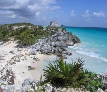 tulum beach with no Mexico crime
