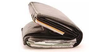 overloaded wallet