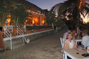 evening at estudio restaurant