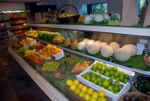 fruits at market