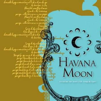 Havana Moon Menu Cover