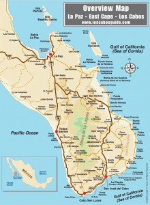 los cabos detailed map