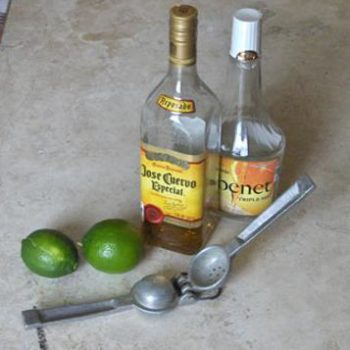 ingredients for the perfect margarita recipess