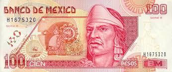 one hundred peso bill