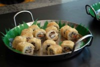 sushi at the buffet