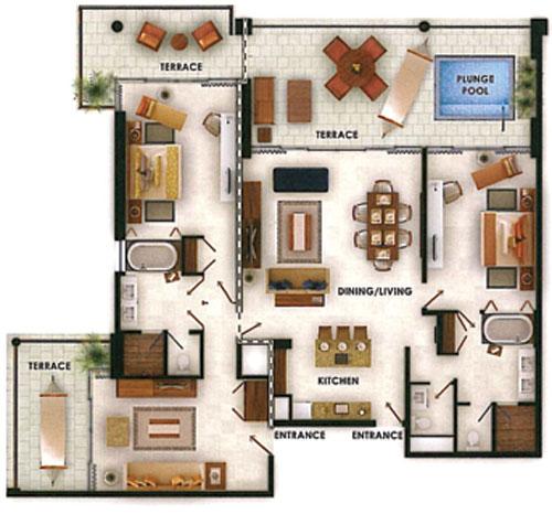 Suite De 2 Rec 225 Maras En Grand Luxxe Villa De Nuevo Vallarta