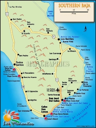 Grand Mayan Los Cabos Maps Getting There