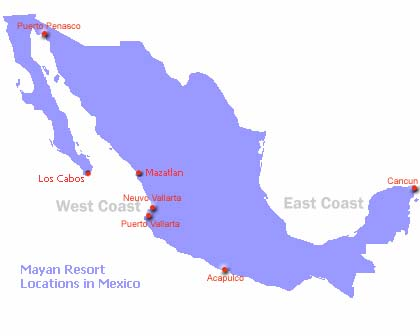 Where Is Mazatlan In Mexico Map.Mazatlan Mayan Palace Maps Getting There