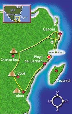 Mayan Resort Riviera Maya Maps and Directions
