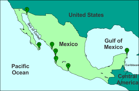 Resort Location Map